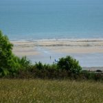 Amroth-beach-from-fields-at-Amroth-Cottages