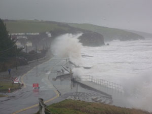Stormy Amroth Pembrokeshire again (RS9)